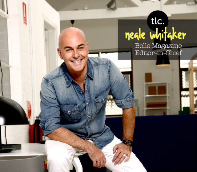 Interview with Belle Magazine's Neale Whitaker