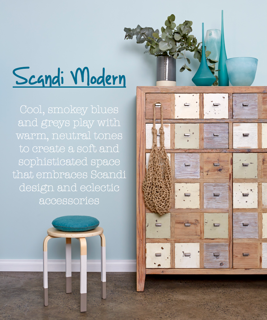 Paint Place colour trends forecast for 2014 - Scandi Modern
