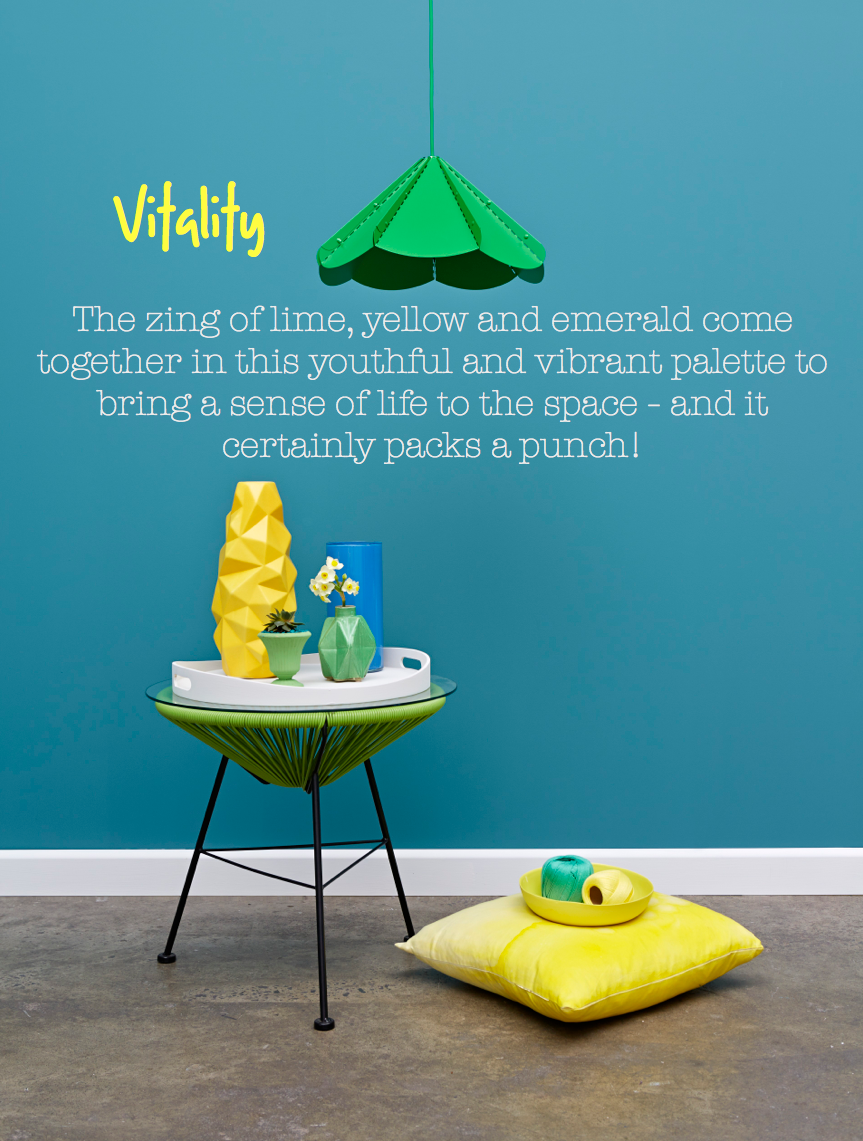 Paint Place colour trends forecast for 2014 - Vitality
