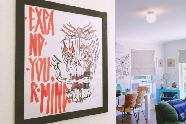 Quirky Art and Furniture from Jenna Bain's Home