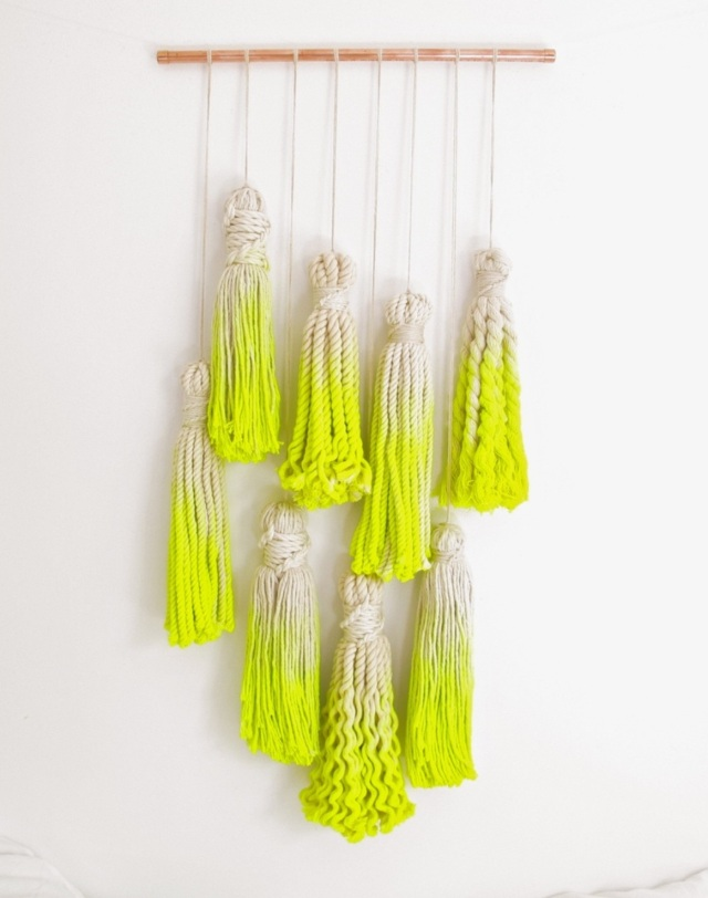 Ombre Rope in Neon Green / Yellow