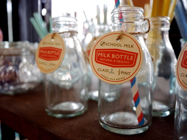 Vintage Milk Bottles - Reclaim Newtown